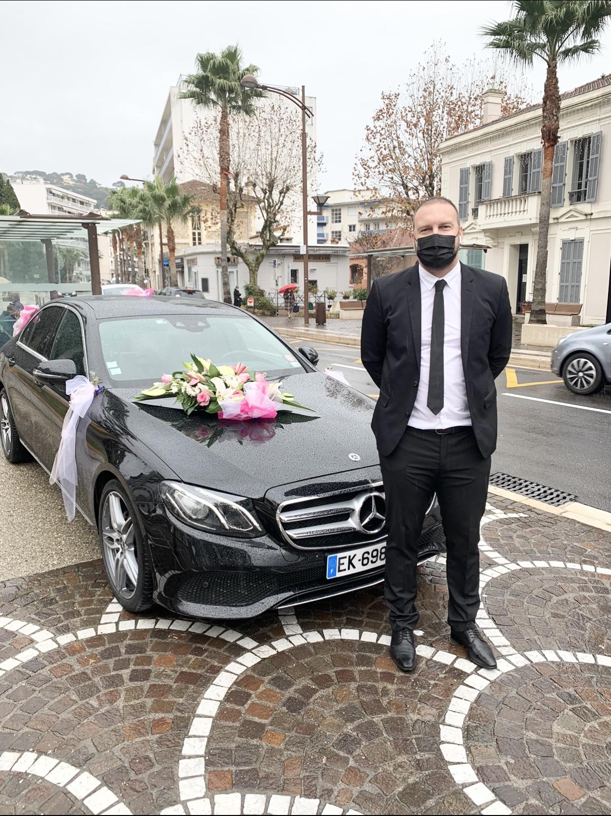 mariage chauffeur