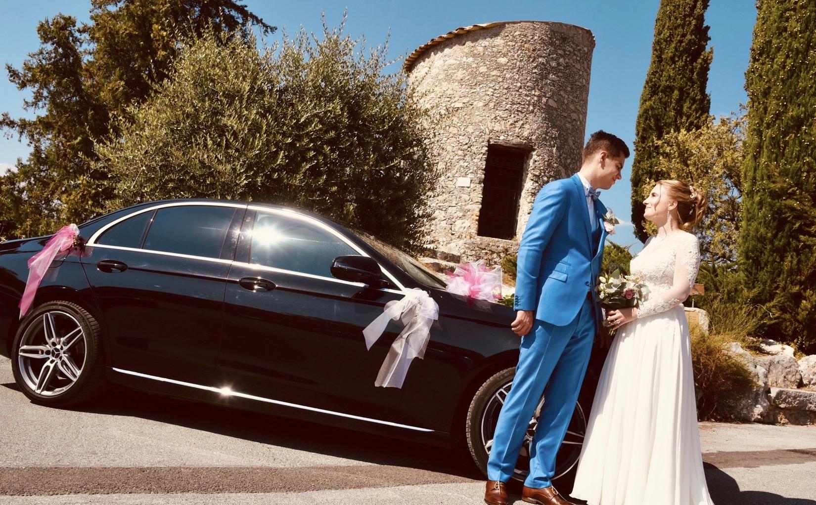 Pause des mariés